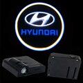 2X LED Автомобилей Двери Свет Лазерный Проектор Призрак Тени Логотип свет ДЛЯ Hyundai ix35 i30 solaris акцент tucson
