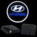2X LED Puerta Del Coche Luz Del Proyector Láser Sombra del Fantasma de la luz de Insignia PARA Hyundai ix35 i30 solaris acento tucson