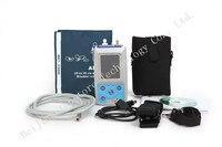 Ce/fda xách tay and tốt hình màn hình lcd ambulatory blood pressure monitor + tự động 24 h bp đo lường blood pressure monitor