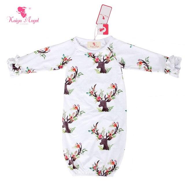 Kaiya Angel Baby Sleeping Bag Christmas Deer Baby Clothes Newborn