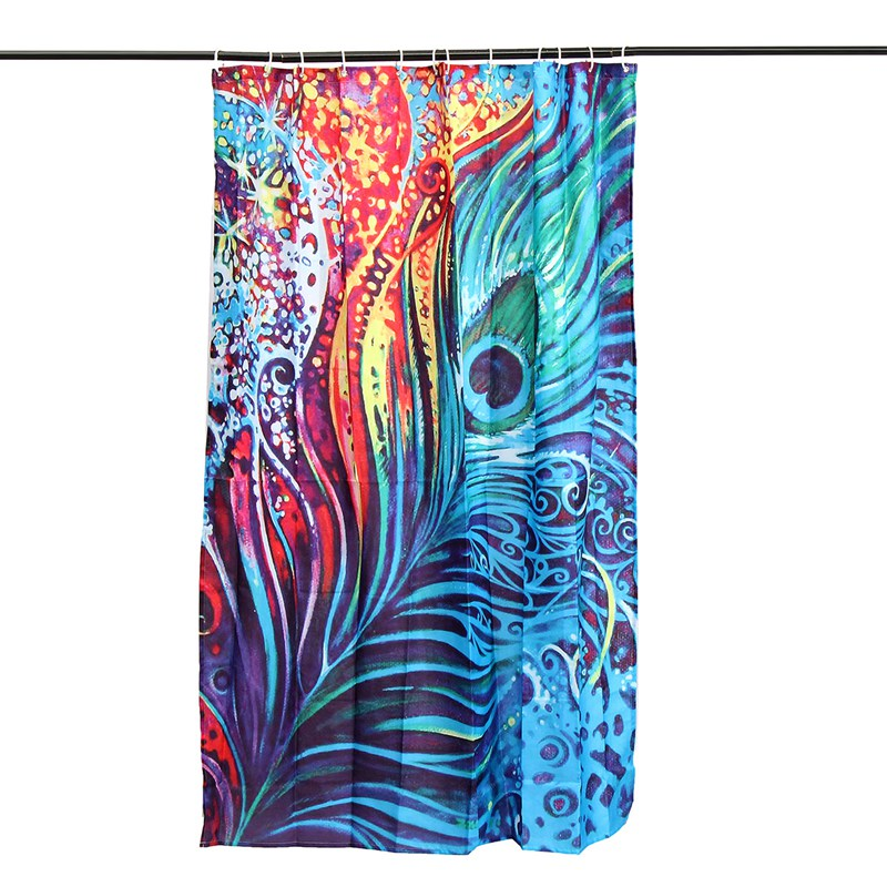 Online Get Cheap Peacock Shower Curtain