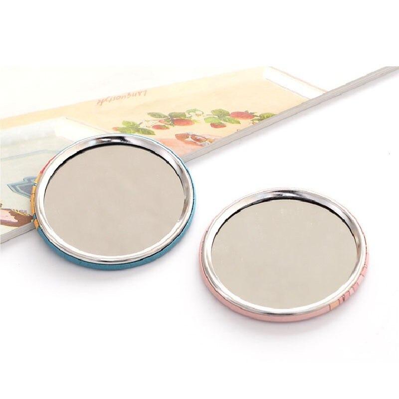 Schönheit & Gesundheit 1 Stück Kompakte Tasche Spiegel Hand Make-up Kompakte Spiegel Portable Professional Kosmetik Mini Schönheit Make-up-tools