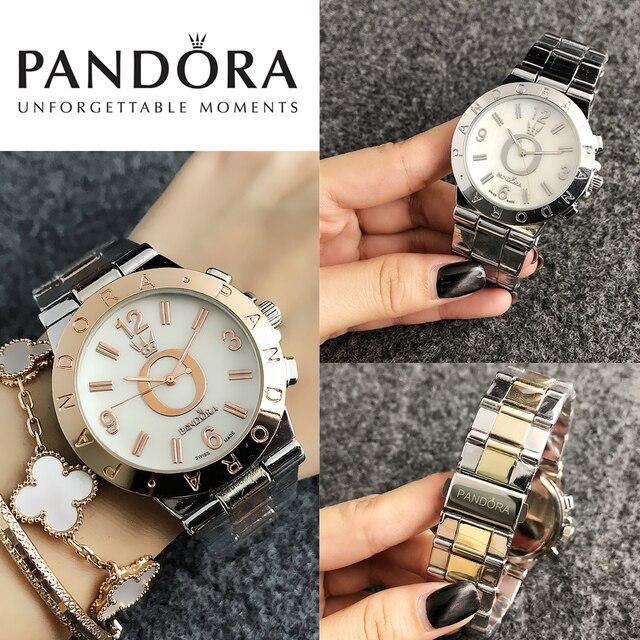 2141f916c916 Satış Pandora izle Kadın Saatler pandora bilezik charms gümüş 925 ...