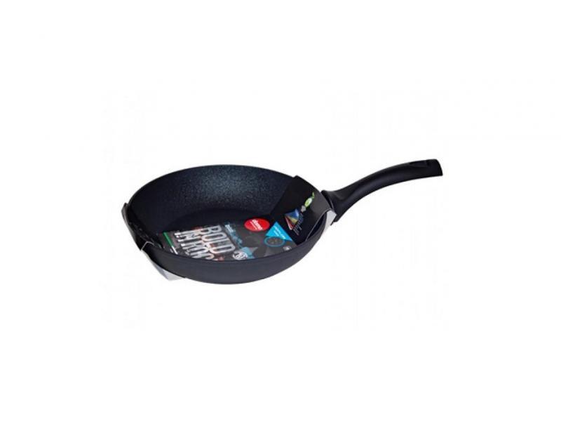Frying Pan Domo, Bold in Rock Black, 24 cm сковорода d 24 см domo bold in rock black bb2241