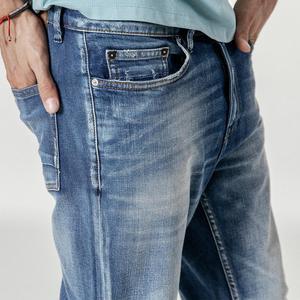 Image 3 - SIMWOOD nouveau 2020 jean hommes mode Denim cheville longueur Modis pantalon mince grande taille pantalon marque vêtements Streetwear jean 190028