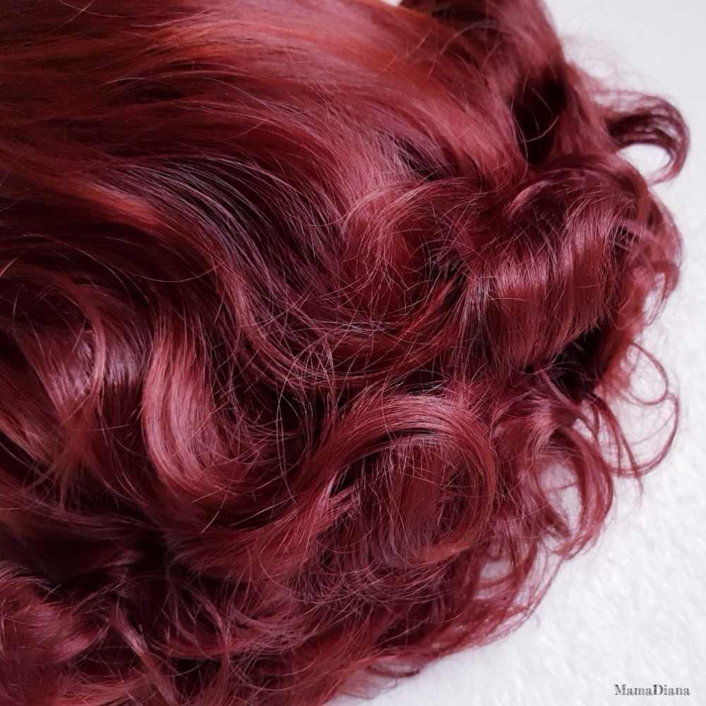 Короткие волосы волнистые парики для женщин Горячая Мода синтетические волосы термостойкие боковая часть Боб Стиль коричнево-красный бордовые парики пикантные