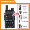 Boafeng uv5r 136-174/400-480 МГц уф-5r w/3800 батареи + чехол + зарядное устройство + микрофон + кабель