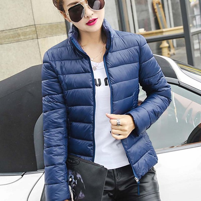 winter jacket women 2016 fashion slim short cotton-padded jacket parka female wadded jacket outerwear winter coat women