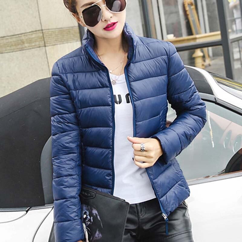 Kış ceket kadınlar 2016 moda ince kısa pamuk-yastıklı ceket parka kadın pamuk ceket giyim kış ceket kadınlar