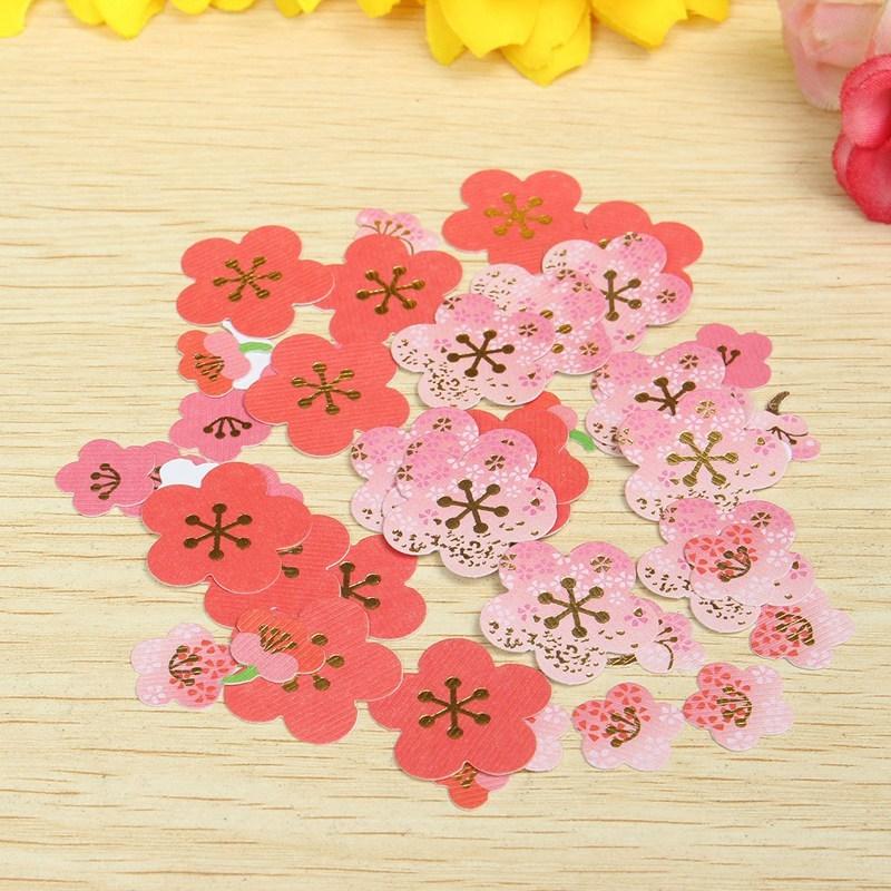 Office & School Supplies Notebooks & Writing Pads Peerless 40pcs Diy Plum Flower Cherry Blossoms Stickers Scrapbooking Album Photo Stationery Sticker
