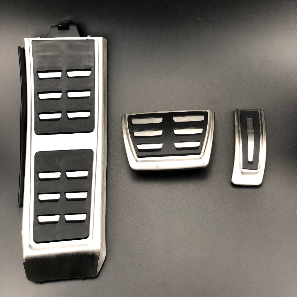 Genuine AUDI A7 S7 Sport Gas Brake and Dead Pedal Kit Automatic 2010 only LHD