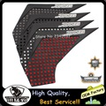 White Motorcycle Accessories Carbon Fiber Tank Pad tank Protector Sticker 3M For Yamaha XJ-6 xj6 2010-2016