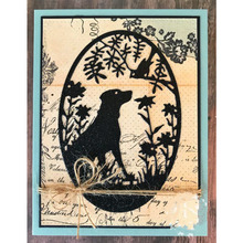 Dog Cat Figure Silhouette Metal Cutting Dies DIY Etched Craft Paper Card Making Scrapbooking Embossing