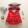 Hot style!In The Winter Of 2016 The New Boys And Girls With Thick Warm Coat The Children Cotton-Padded Clothing Jacket