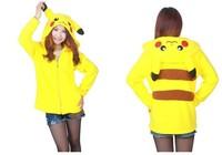 Kawaii Cartoon Anime Animal Pikachu Panda Roze Stitch Umbreon Rilakkuma Beer Vrouwen Mannen Hoodie Cosplay Paar Hoody Fleece