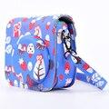 Lovely Owl Camera Bag Case with Shoulder Strap for Fujifilm Instax Mini 8/Mini 8s Fuji Film Camera Blue