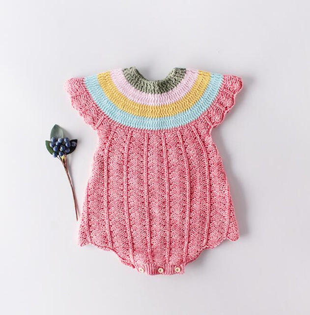 Newborn Baby Romper Cotton...