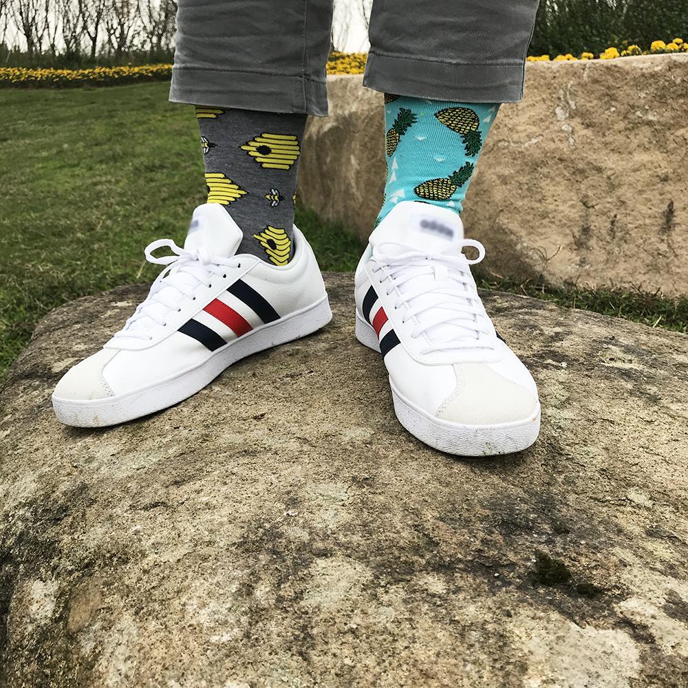 calcetines de algodón