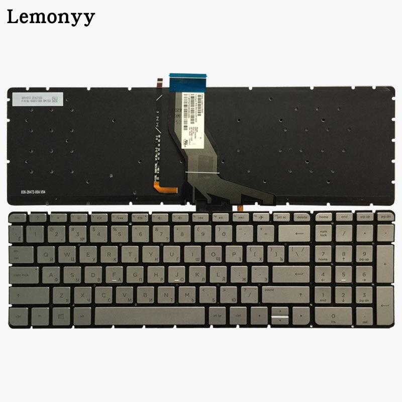 New Russian Laptop Keyboard for HP Pavilion 15-ab 15-AK 15-ab000 15-ab100 15-ab200 15z-ab100 Silver RU Backlight KeyboardNew Russian Laptop Keyboard for HP Pavilion 15-ab 15-AK 15-ab000 15-ab100 15-ab200 15z-ab100 Silver RU Backlight Keyboard