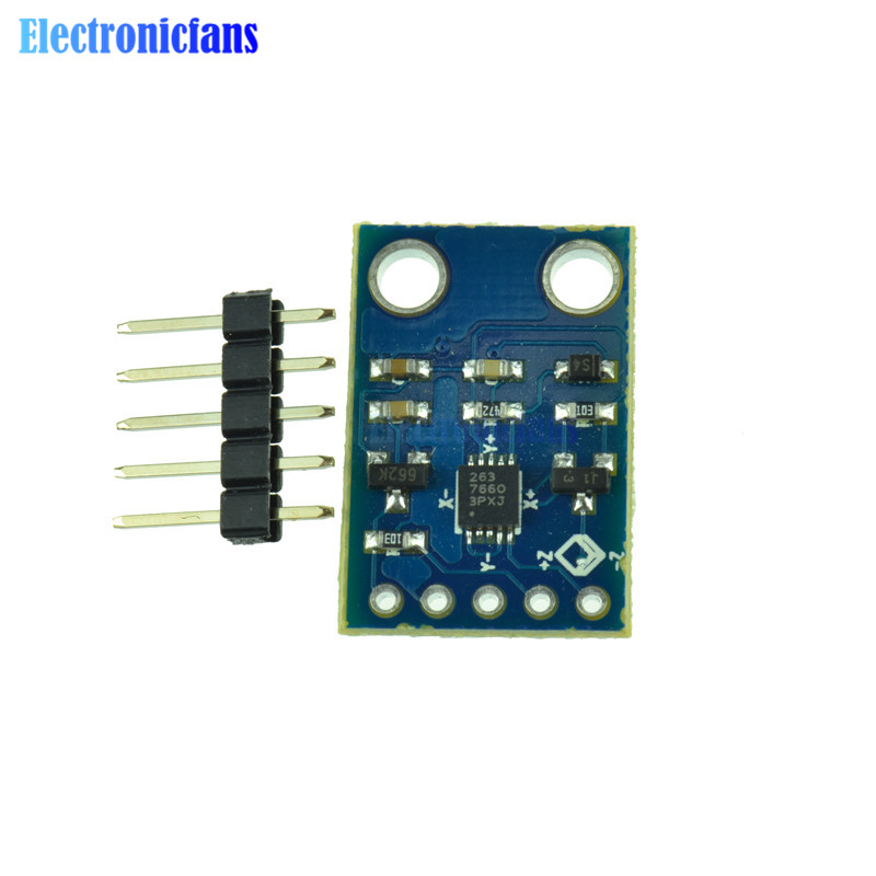 US $1 33 12% OFF IIC I2C MMA7660 Triaxial Acceleration Sensor Module For  Arduino AVR PIC-in Sensors from Electronic Components & Supplies on