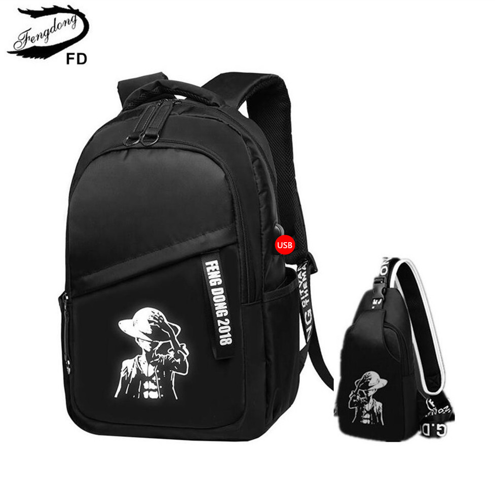 FengDong high school backpacks for boys bagpack student waterproof backpack schoolbag children chest bag girls school back pack fengdong school backpacks for boys black laptop computer backpack kids school bag bagpack men travel bags backpacks for children