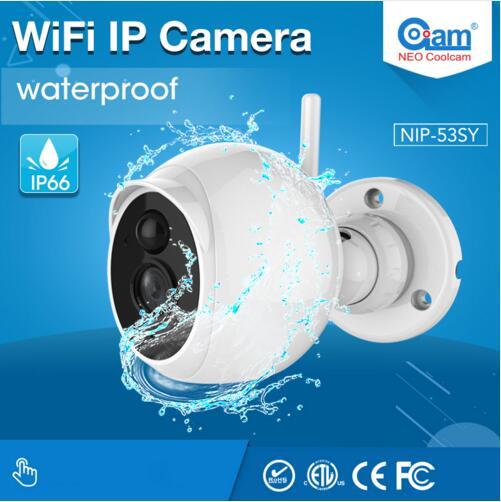 Фотография Nice Design NIP-53KV WaterProof Outdoor Ip Camera 1080P HD Wifi IP Camera P2P IP Camera Support TF Card