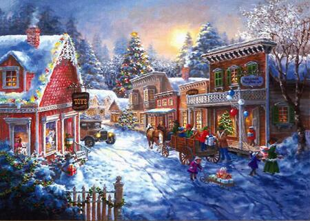 5D DIY Diamond Painting Landscape Winter Scenery