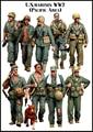 US MARINES WW2 (9 Figures) 1/35 Resin Model Kit Free Shipping