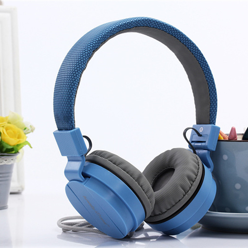 Colorful Soft Noise Cancelling Headphones Folding Headset Earphone Phone Pc Computer For Iphone