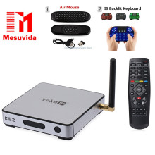 Mesuvida YOKA KB2 Android TV Box Amlogic S912 Octa Core Double bande WiFi Bluetooth 4.0 2G DDR3 RAM 32G eMMC ROM KD 17.0