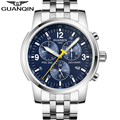 Original GUANQIN Men Mechanical Watches Men Luxury Brand Full Steel Waterproof 100m Business Automatic Wristwatches For Men