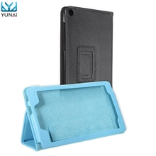YUNAI PU Leather Protective For Lenovo Tab 2 A7-20F Case Cover Folding Holder Stand Cover Case New Tablet Case 7 inch