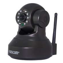 Wanscam JW0012  480P  Pan/Tilt Rotate Motion Detection IR Night Vision Network  IP Camera Support TF Card Record