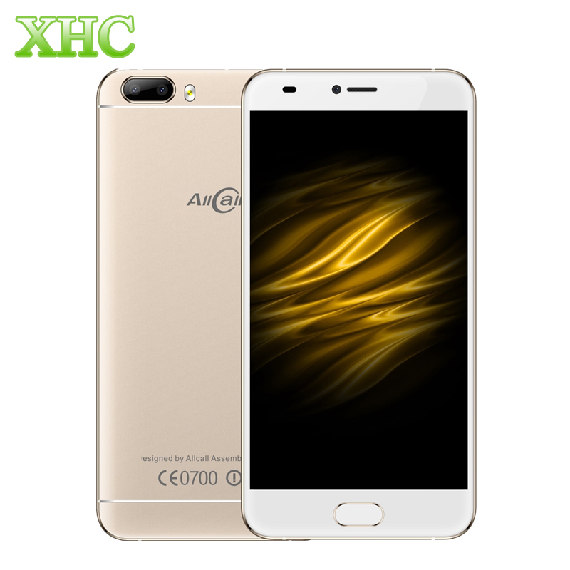 AllCall Bro RAM 1GB ROM 16GB Smartphones Fingerprint Recognition 5.0inch Android 7.0 MTK6580A Quad Core 8.0MP Dual SIM Cellphone