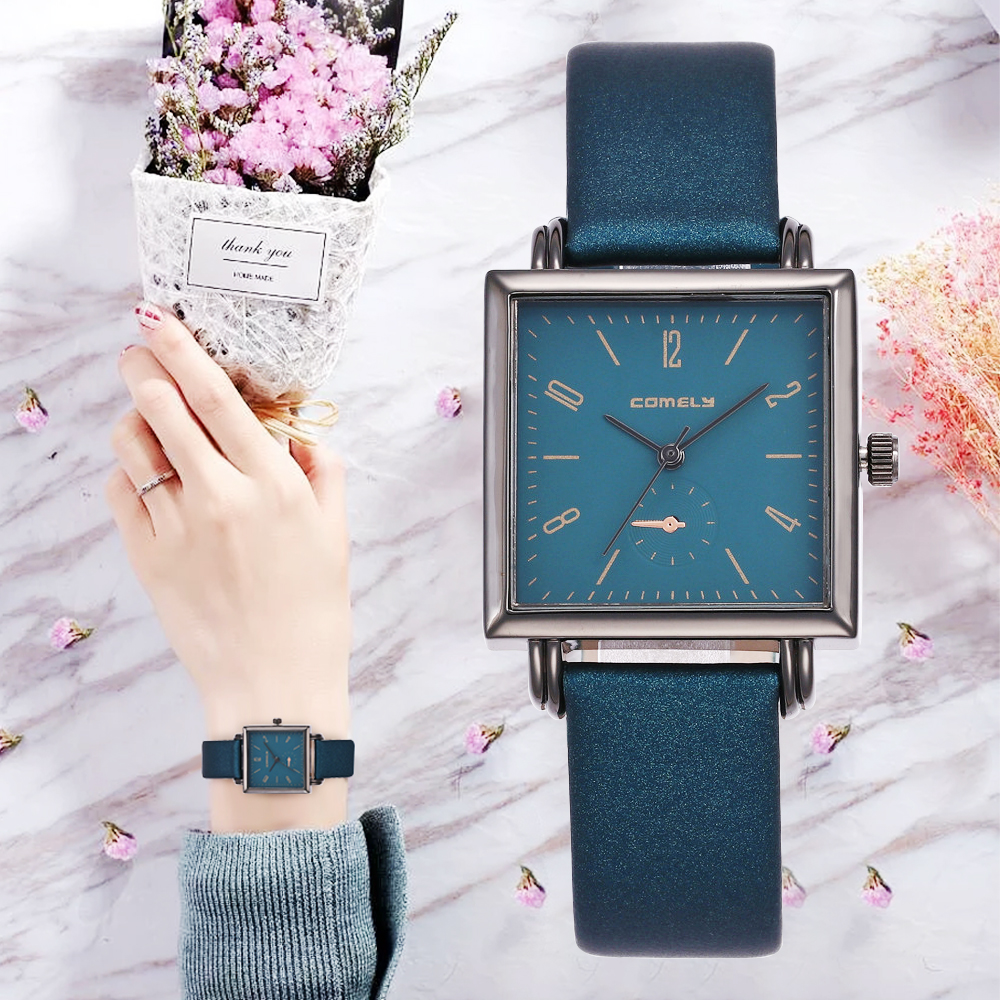 New Ultra Thin Genuine Leather Watches For Woman Quartz Watch High Quality Brand Luxury Ladies Wristwatch Ceasuri Women Relogios