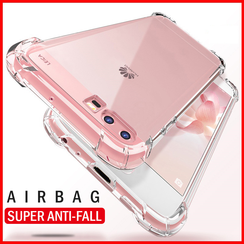 Image 3 - H&A Full Shockproof Clear Silicone Case For Huawei P20 Lite P20 Pro P10 Plus Soft TPU Phone Cover Honor 9 Lite 8 Lite 10 Case-in Half-wrapped Cases from Cellphones & Telecommunications