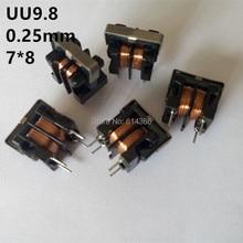 Indutor de Filtro 5 PCS 7*8mm Modo Comum Engasgar Uu9.8 10mh