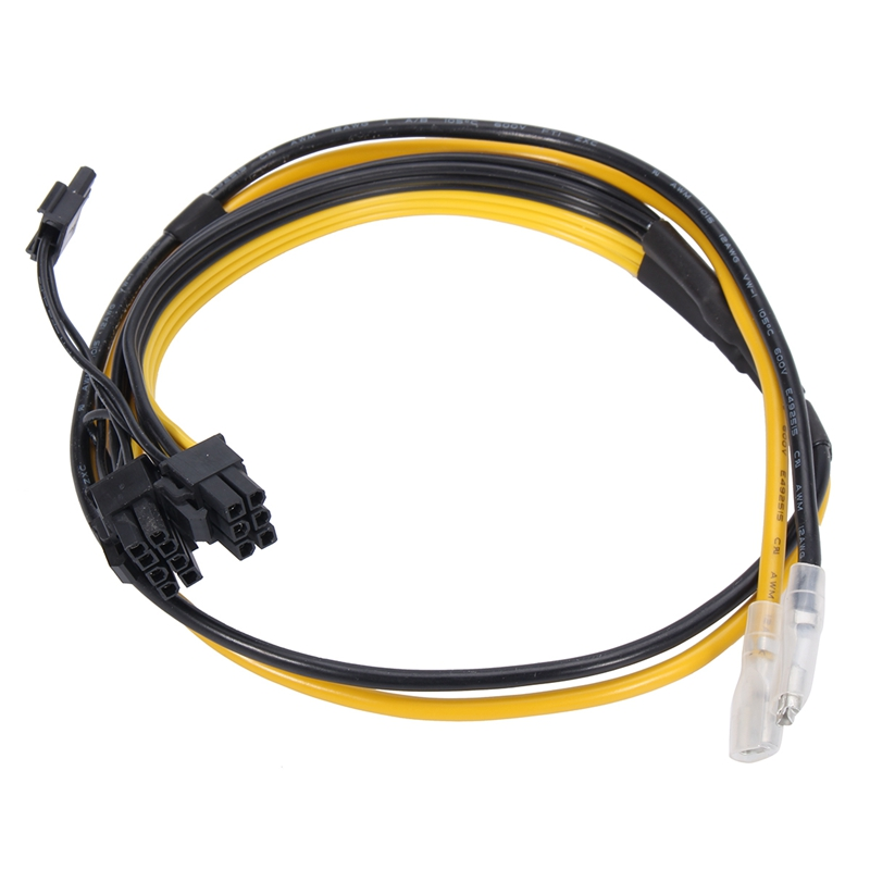 5Pcs 6+2pin PCI-E Power Cable 12AWG+16AWG For Graphics Video Card Board Adapter New  Connector Internal Cable Power Splitter 70meter set 6mm spiral wrapping bands white black red yellow blue green grass green each 10meter