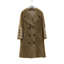femme warm 2018 natural real lady lamb fur coat Sheep Shearing Overcoat Women feminino winter genuine sheeksin jacket wool fur стоимость