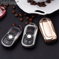 New Soft TPU Protection Key Case Cover For OPEL Astra Buick ENCORE ENVISION NEW LACROSSE Rings