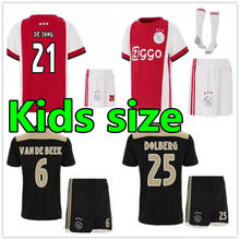 8ee2c8194cf 18 19 kampioen Ajax kids voetbal Jersey 2019 2010 ZIYECH SCHONE Ajax jersey  kinderen Jeugd shirt