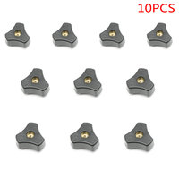 SET Of 10PCS M8 Star Knob For Woodworking Jigs