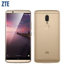 D'origine ZTE Axon 7 S A2018 Mobile Téléphone 5.5 pouces 4 GB RAM 128 GB ROM Snapdragon 821 Quad Core double Caméras D'empreintes Digitales Smartphone