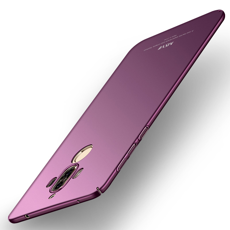 Origianl Huawei Compagnon 9 Cas De Luxe MSVII Marque Silm Dur Retour Cas de couverture Pour Huawei Mate9 Téléphone Cas Huawei Compagnon 9 Pro cas