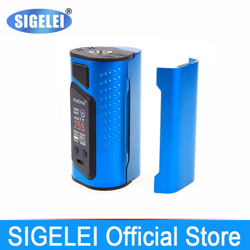 Original SIGELEI FuChai range FuChai Duo 3 e electronic cigarette vape mod 10w 175w 255w
