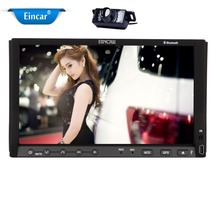 Rear Camera Included Win 8 Car DVD Player Audio Stereo 7-inch Double-din Capacitive Touchscreen with mp3/mp4/AM/FM/RDS/Sub/AUX/I