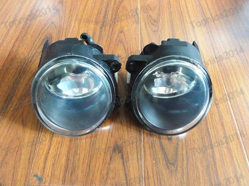 2 Pcs/par Left & Right Frente Bumper Limpar Nevoeiro Luzes de Condução Lâmpadas 63176920885 63176920886 Para BMW X5 E53 Series 2003-2006