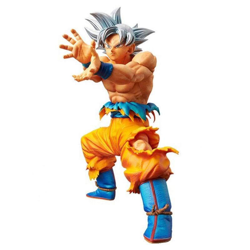 Offre spéciale originale boule de Dragon Banpresto Super Ultra Instinct Goku Migatte pas de Gokui clé de l'égoïsme Figure modèle Collection jouets
