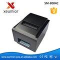 Impresora de alta Velocidad Barato POS Impresora Cortador Automático 80mm USB de La Impresora Térmica Impresora de Recibos SM-8004C