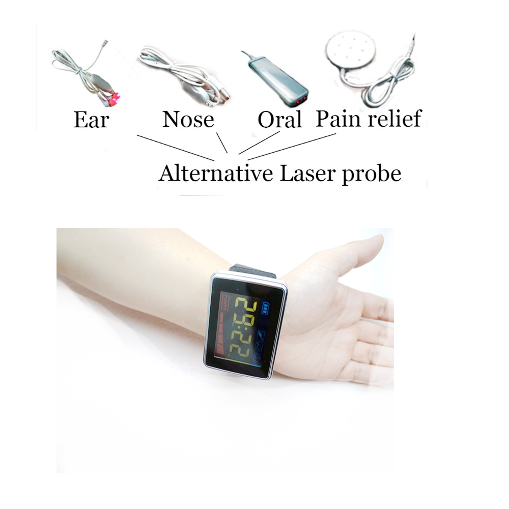 Natural Ways to Lower High Blood Pressure cardio watch Remedies Red Light Laser Therapy Acupuncture Laser Machine blood pressure laser therapy watch cardiovascular therapeutic apparatus laser watch laser treatment